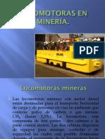 Locomotoras en Minería