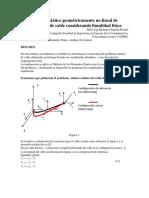 Análisis Estático Geométricamente No-lineal Presentacion