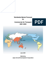 Worldwide Market Forecast for Commercial Air Transport - 2001-2020