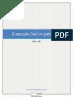 Comando Dsolve
