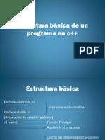 Estructura de Un Programa c++