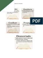 Vocabulario Castellano