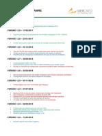 MFC - Controle Revisões Firmware