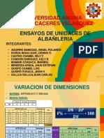 Exposicion de Albañileria