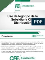 Presentación y Uso de Logotipo CFE Distribución