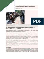 Cruel Realidad Económica de Un Egresado en Colombia Febrero 5 de 2012