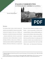 Principales Corrientes Filosófico Culturales en America Latina