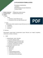 Rencana Pelaksanaan Pembelajaran Tik