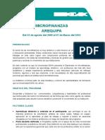 Diplomado en Microfinanzas