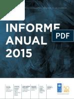 Informe Anual 2015 El Salvador calidad de vida