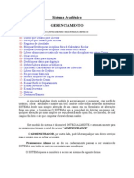 Sistema Acadêmico-gerenciamento