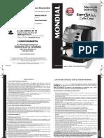 Manual_cafeteira Espresso C-08 11-16 Rev08 Impressão