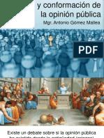 1 Origen y Conformación de La Opinión Pública