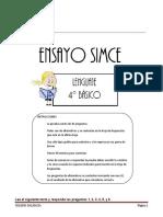 ENSAYO SIMCE NUMERO  2 LENGUAJE.doc