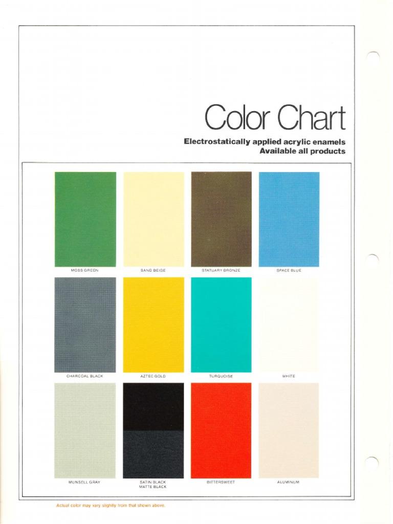 Itt american electric color chart 1979 nvjuhfo Gallery
