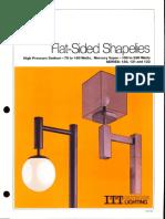 ITT American Electric Flat-Sided Shapelies Series 130-131-132 Spec Sheet 2-79