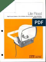 ITT American Electric Lite Flood Series 79 & 80 Spec Sheet 2-79
