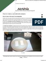 How to Make a Cannabinoid Analysis - Alchimia Blog
