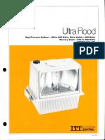 ITT American Electric Ultra Flood Series 275 & 276 Spec Sheet 8-79