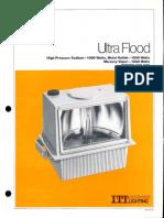 ITT American Electric Ultra Flood Series 277 & 278 Spec Sheet 2-80