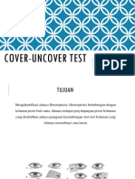 Pemeriksaan Cover-uncover Tes