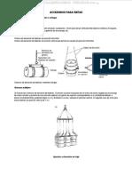 Material Accesorios Gruas Elevacion Bidones Cables Eslingas Sistemas Tipos Cables Inspeccion Limpieza Mantenimiento
