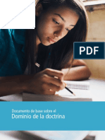 Documento de Base Sobre El Dominio de La Doctrina