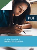 Documento de Base Sobre El Dominio de La Doctrina