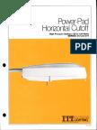 ITT American Electric Power-Pad Horizontal Cutoff Series 213 & 214 Spec Sheet 9-81