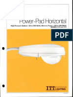 ITT American Electric Power-Pad Horizontal Series 213 & 214 Spec Sheet 9-81