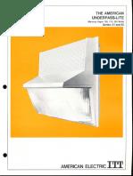 ITT American Electric Underpass-Lite Series 81 & 82 Spec Sheet 4-73