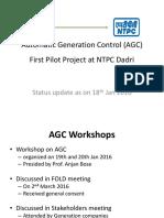 AGC Pilot _Status Update_18th Jan (1)