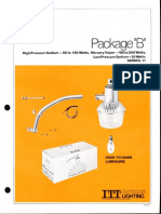 ITT American Electric Package B Dusk-To-Dawn Series 11 Spec Sheet 3-82