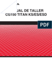 Honda CG 150 Titan KS-ES-ESD - Service Manual (Spanish)