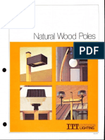 ITT American Electric Natural Wood Poles Spec Sheet 2-79