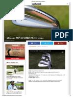 Mizuno MP-18 MMC Fli-Hi Irons _ Golfweek