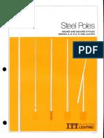 ITT American Electric Steel Poles Spec Sheet 2-79