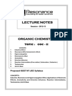 Resonance booklet of General Organic Chemistry and Acidic and Basic Strength