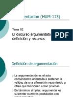 02 Argumentación y Argumentos Subjetivos