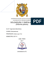 Informe 2- Previo Electrotecnia - unmsm