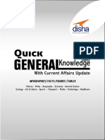 Quick General Knowledge 2017 Wi - Disha Experts