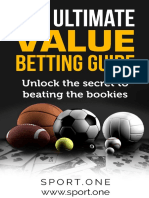 The Ultimate Value Betting Guide