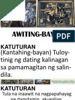 Awiting Bayan/Musikang Pilipino