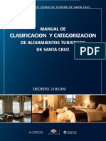 Decreto 2185 2009 Manual de Clasificacion y Categorizacion