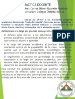 Practica Docente Poster