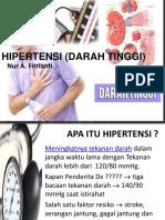 Hipertensi (Darah Tinggi) Pkm Wtbng
