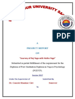 Juarney of Raj Yoga With Hut Yoga