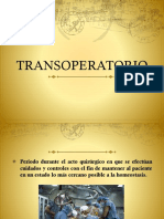 Trans Operatorio