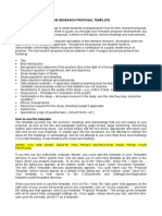 The Research Proposal Template (1)