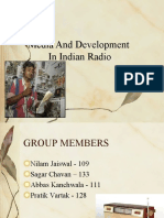 Media and Development in Radio